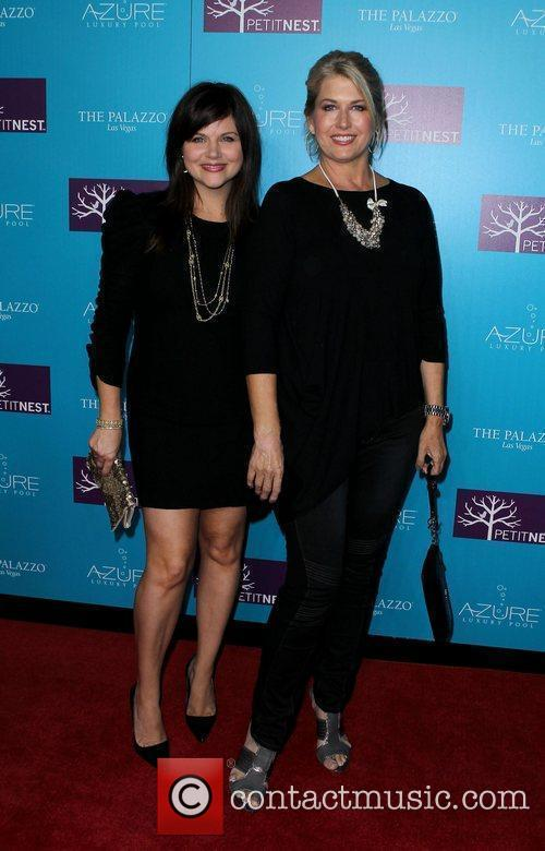 Tiffani Thiessen and Lonni Paul Actress Tiffani Thiessen...