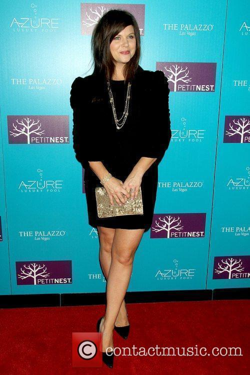 Tiffani Thiessen celebrates the launch of PetitNest at...