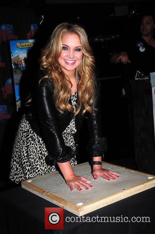 Promotes Disney Channel's 'Sonny With A Chance' at...