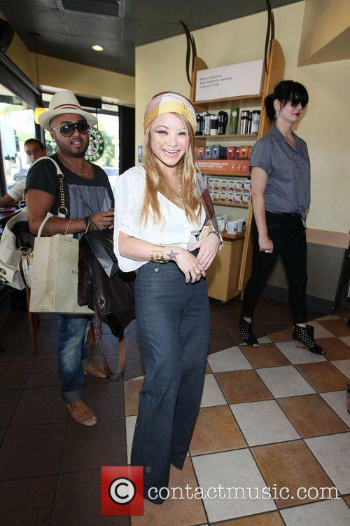 Tila Tequila seen shopping in Beverly Hills, sporting...