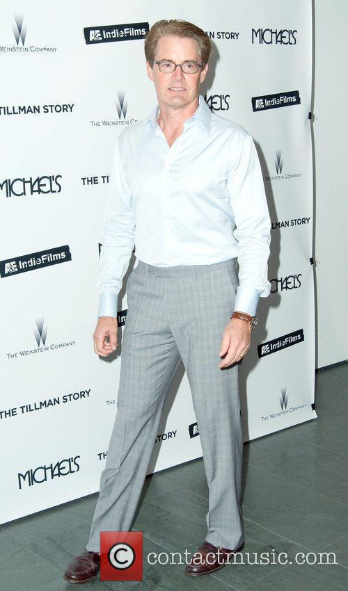 Attends the premiere of 'The Tillman Story' presented...