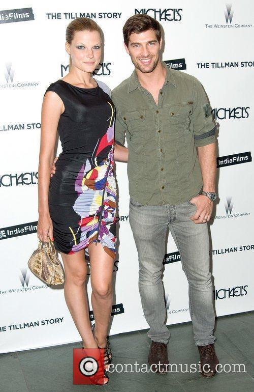 Bekah Jenkins and Cory Bond attend the premiere...