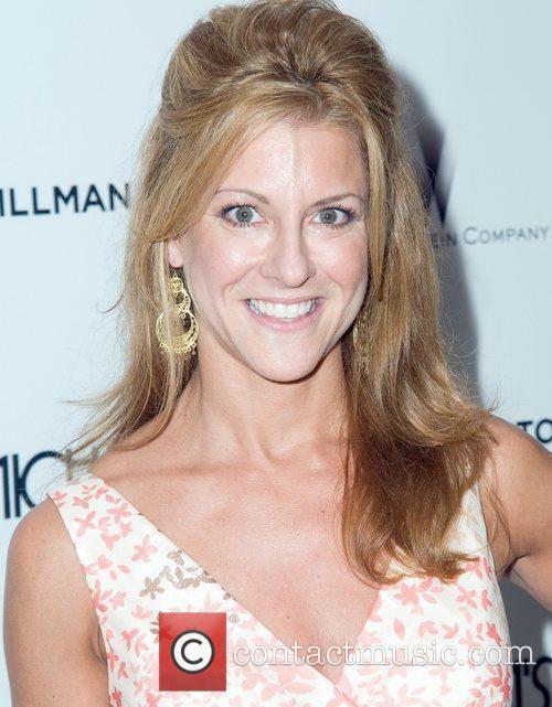 Bonnie Bernstein attends the premiere of 'The Tillman...