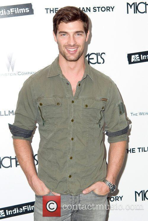 Cory Bond attends the premiere of 'The Tillman...