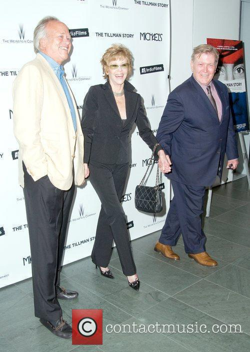 Dick Ebersol and Jane Fonda 2