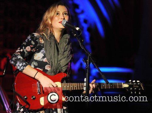 Kamila Thompson performs at Union Chapel London, England