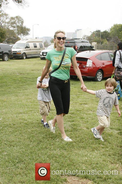 Sharon Stone The 21st annual Pediatric AIDS Foundation...