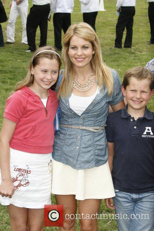 Candace Cameron Bure and family The 21st annual...