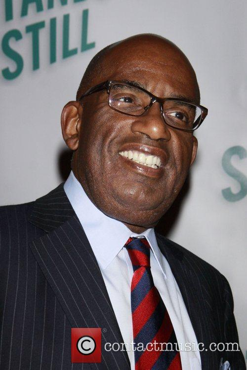 Al Roker Opening night of of the Broadway...