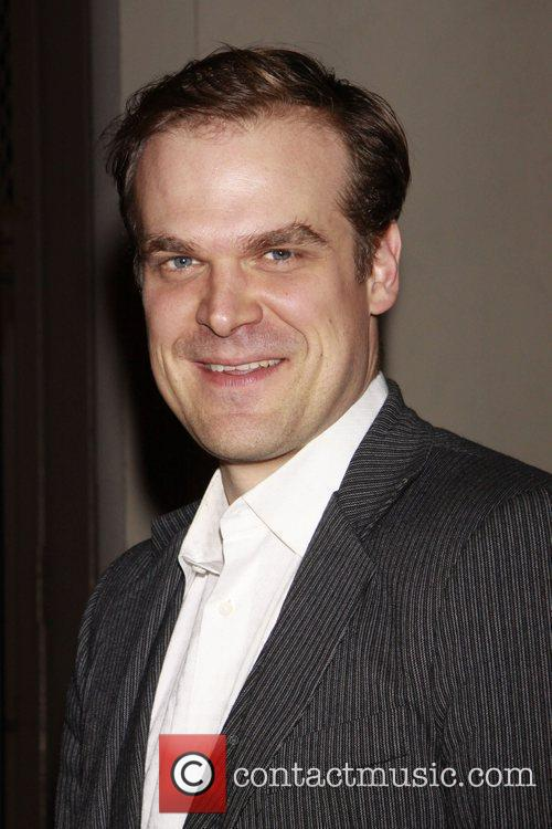 David Harbour Opening night of of the Broadway...