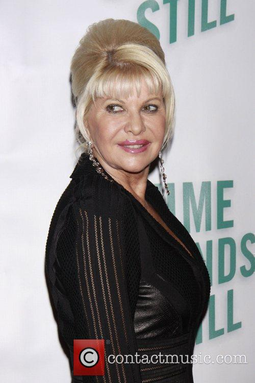 Ivana Trump Opening night of of the Broadway...