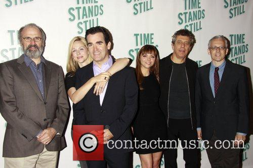 Laura Linney, Christina Ricci, Donald Margulies and Eric Bogosian 2