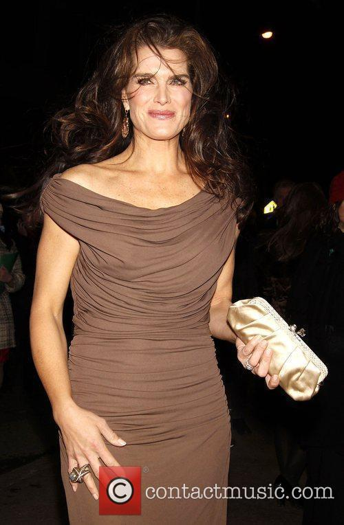 Brooke Shields Opening night of the play 'Time...