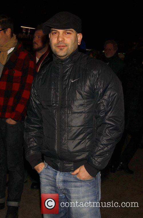 Guillermo Diaz Opening night of the play 'Time...