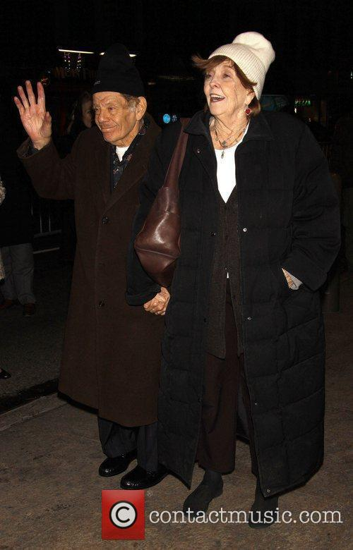Jerry Stiller and Anne Meara Opening night of...