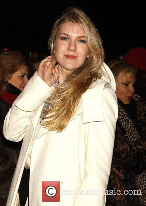 Lily Rabe Opening night of the play 'Time...