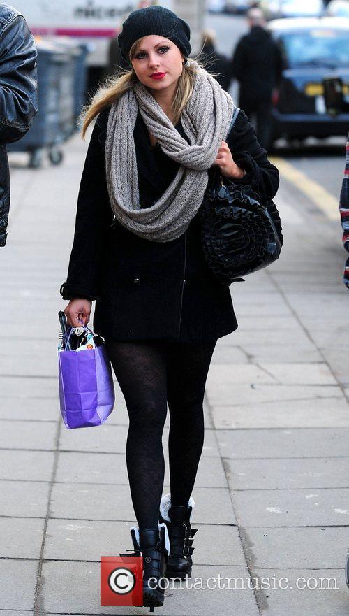 Tina O'Brien  heading to the Opera House,...