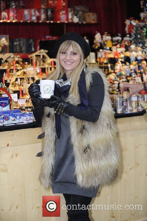 Tina O'Brien  opens the Manchester Christmas Market...