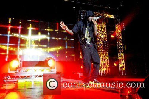 British rapper performing live at the Roundhouse in...