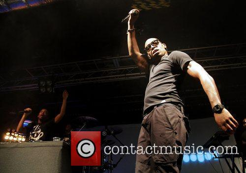 Tinie Tempah performing at Liverpool O2 Academy...
