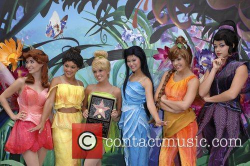 Tinker Bell and Fairies The 2,418th star on...