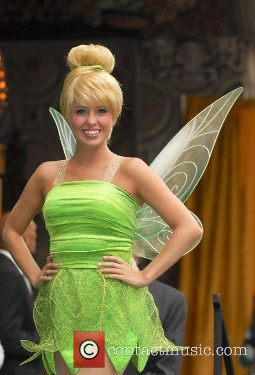 Tinker Bell The 2,418th star on the Hollywood...