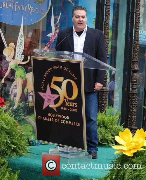 Bradley Raymond Tinker Bell receives the 2,418th star...