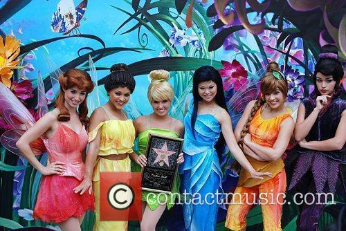Tinker Bell and fairies Tinker Bell receives the...