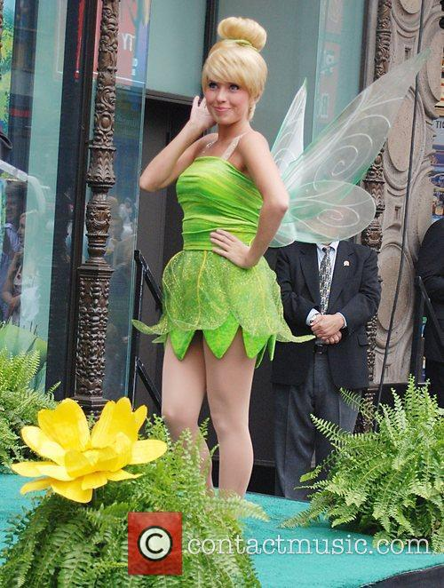 Tinker Bell Tinker Bell receives the 2,418th star...