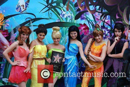 Tinker Bell and cast Tinker Bell receives the...