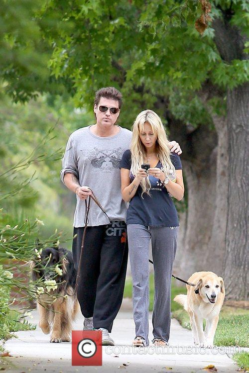 Billy Ray Cyrus and Tish Cyrus Billy Ray...