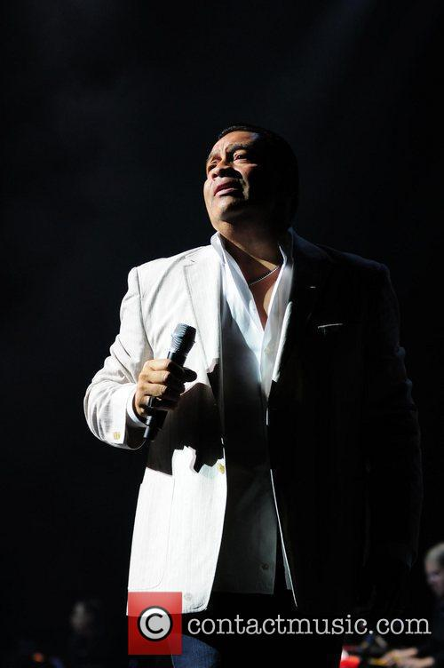Salsa singer Tito Nieves performs at James L....