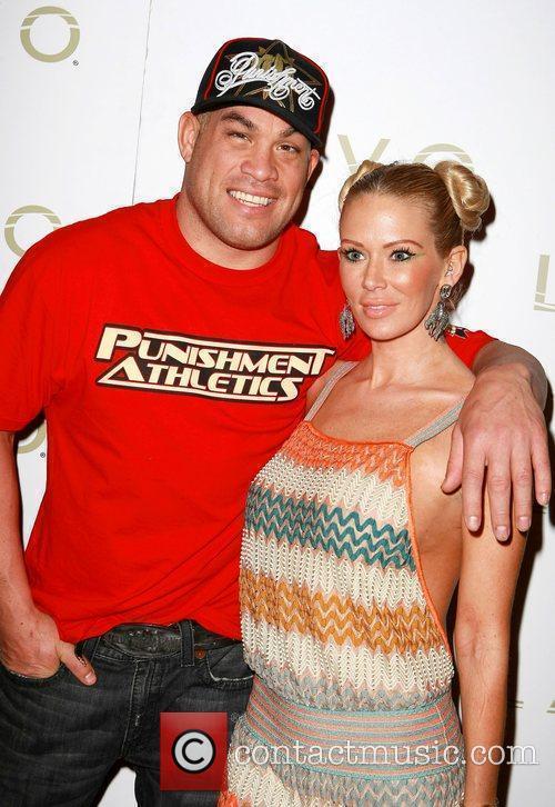 Tito Ortiz and his girlfriend Jenna Jameson Tito...