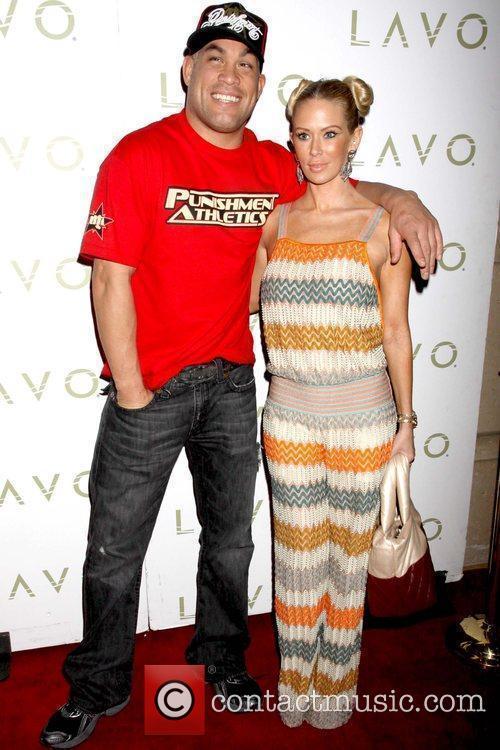 Tito Ortiz and Jenna Jameson Tito Ortiz celebrates...
