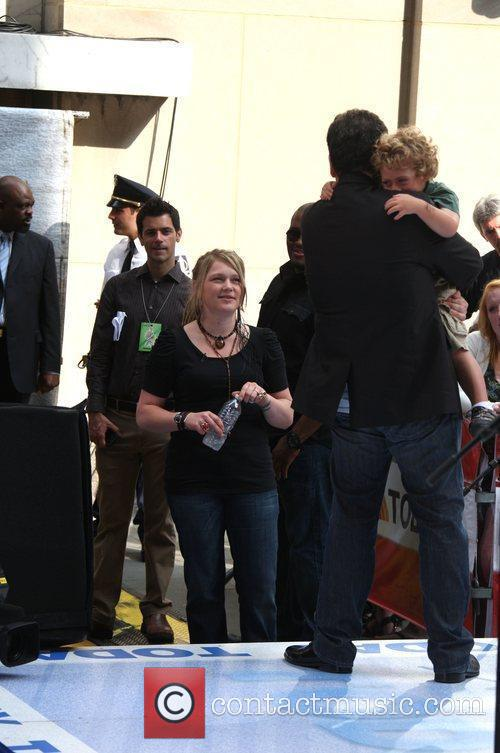 Crystal Bowersox at the Today show with her...