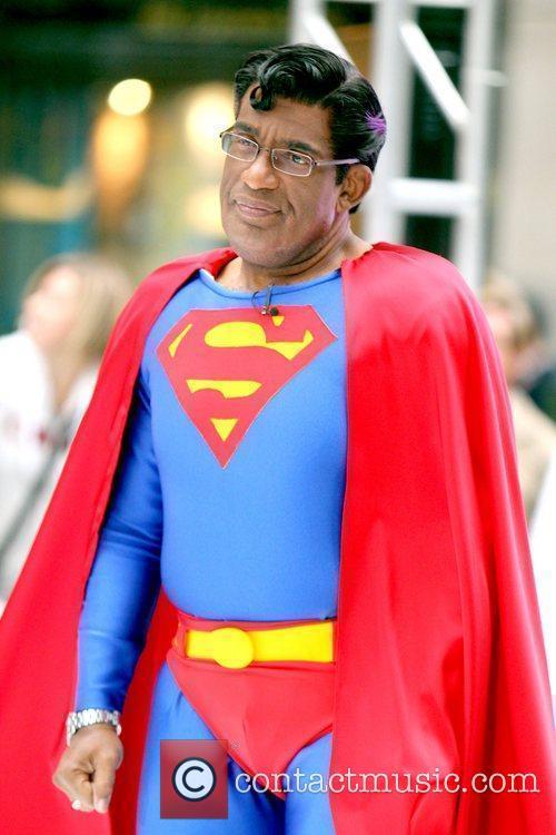 Al Roker and Superman 4