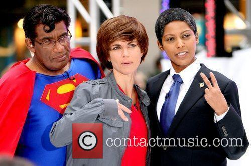 Al Roker, Barack Obama, Justin Bieber, Superman, NBC
