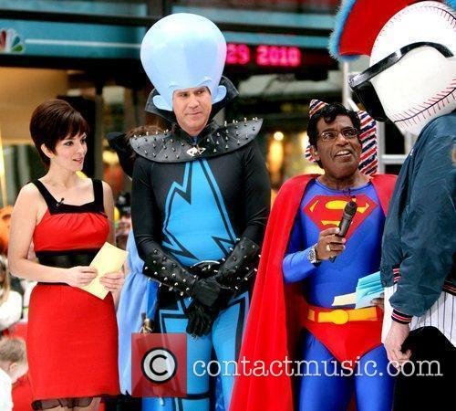 Tina Fey, Al Roker, Superman and Will Ferrell 4