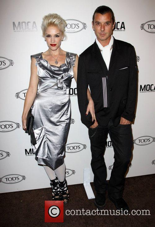 Gwen Stefani and Gavin Rossdale Tod's Boutique grand...