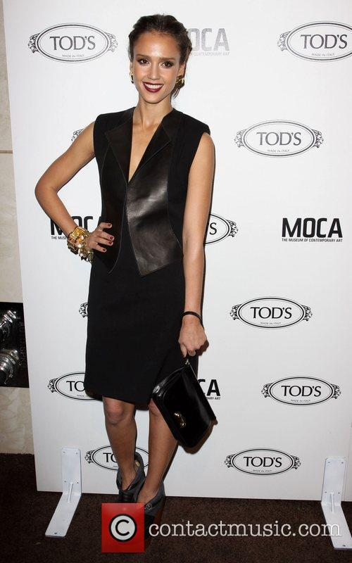 Jessica Alba Tod's Boutique grand opening in Beverly...