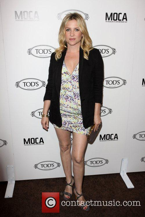 Jessica Capshaw Tod's Boutique grand opening in Beverly...