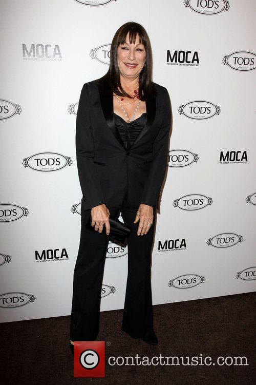 Anjelica Huston Tod's Boutique grand opening in Beverly...