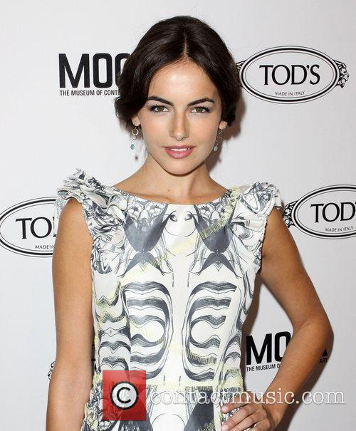 Camilla Belle Tod's Boutique grand opening in Beverly...