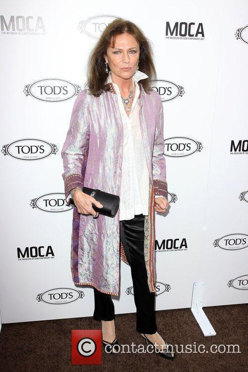 Jacqueline Bisset Tod's Boutique grand opening in Beverly...