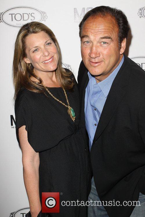 Jim Belushi and Jenny Belushi Tod's Boutique grand...