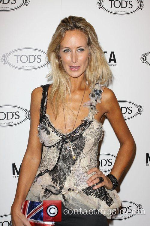 Lady Victoria Hervey Tod's Boutique grand opening in...