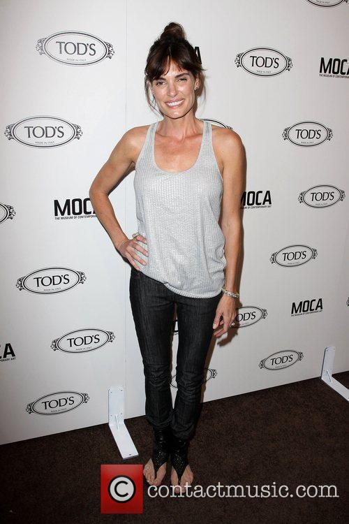 Lisa Linde Tod's Boutique grand opening in Beverly...