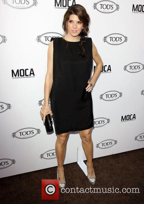 Marisa Tomei  Tod's Boutique grand opening in...