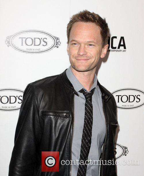 Neil Patrick Harris Tod's Boutique grand opening in...