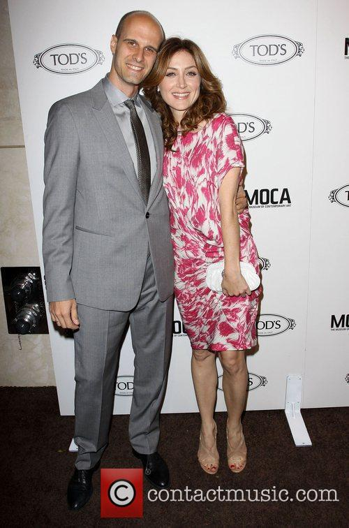 Sasha Alexander and Edoardo Ponti Tod's Boutique grand...
